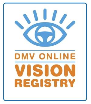 DMV Online Vision Registry
