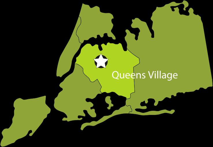 Queens Village map
